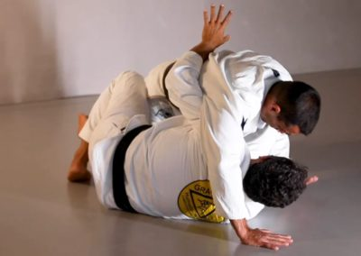 Half Guard Basic Defence and Back Take